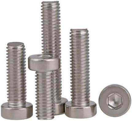 nuzamas 480/piezas M2/M3/M4/acero inoxidable 304/Hex Socket Cap cabeza tornillos y tuercas surtido y llave de llave Allen Kit con caja de almacenamiento