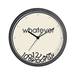 CafePress-Whatever-Wall Clock