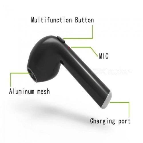 a62bffc2e46 cheap hbq i7 TWS True Mini auriculares inalámbricos Bluetooth V4.2 par de  auriculares en