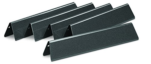 Weber 7636 Porcelain-Enameled Flavorizer Bars for Spirit 300 Series Gas Grills (15.3 x 2.6 x 2.5) ()