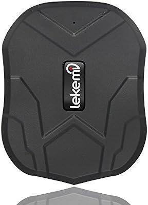Localizador GPS Lekemi para coche con aplicaciones para smartphone ...