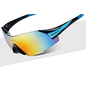 Mr.Right Multifunction Fashion Cool Lightweight Outdoor Sport Cycling Sunglasses(C5)