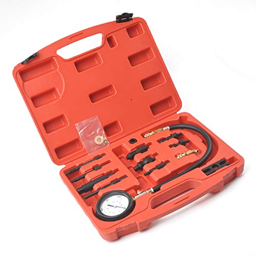 9TRADING Diesel Engine Cylinder Compression Tester Professional Kit Direct & Indirect Truck,Free Tax,Delivered within 10 days
