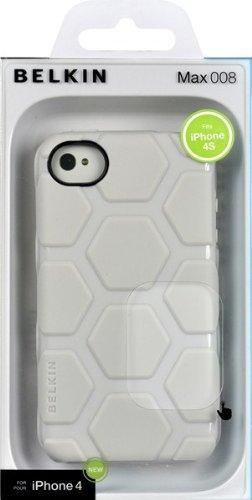 Belkinmax 008 Acrylcase (geeignet für Apple iPhone 4/4S) creme-weiß