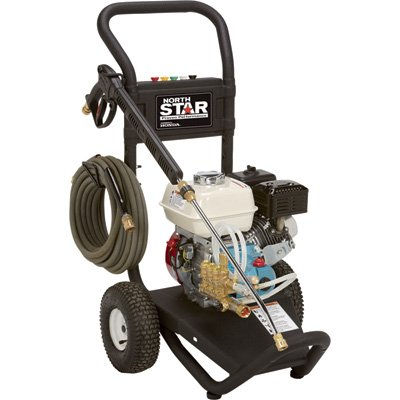 NorthStar Gas Cold Water Pressure Washer - 3000 PSI, 2.5 GPM, Honda Engine, Model# 15781720