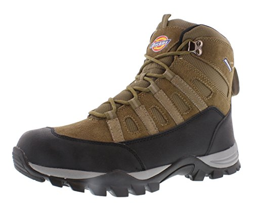 Dickies Escape Men's Work Boots Size US 12, Regular Width, Color Taupe
