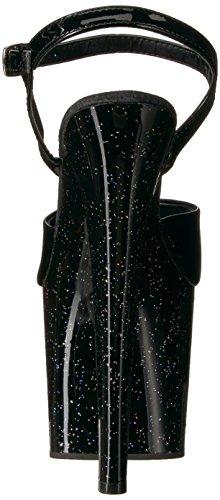 Black Black 709mg Taboo Patent WoMen Pleaser Sandal 8a1xnY6qAw