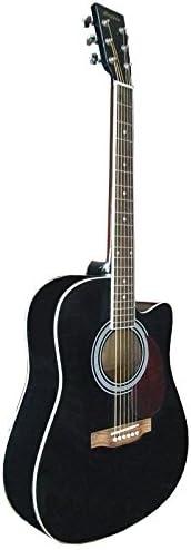 Guitarra Acústica Negra: Amazon.es: Instrumentos musicales