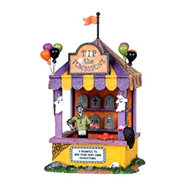 Lemax 03823 TIP the Tombstone Spooky Town Table Accent Carnival Halloween