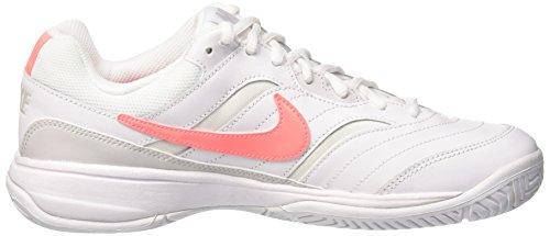 39 Femme Wmns De white lava vast Eu Tennis Blanc Court Nike Lite Grey Glow Chaussures 113 aqHwYI6d