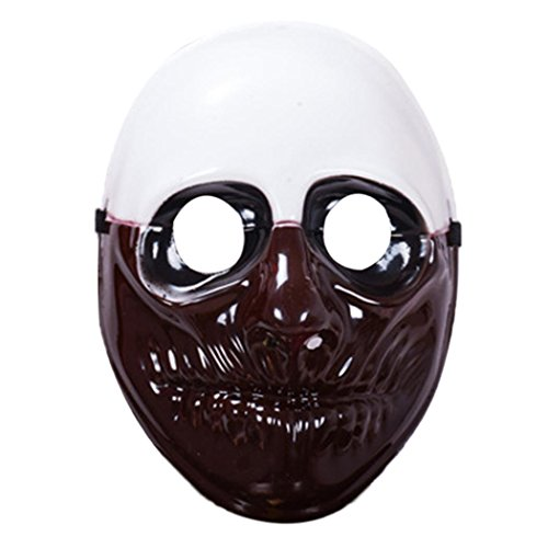 Bulges Payday 2 Dallas Resin Mask for Halloween Party Gift Decoration Cosplay Costume Collection]()