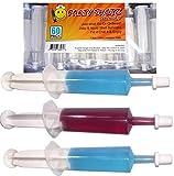 60 Pack Party Shotz Jello Shot Syringes (Medium 1.5oz with CAPS)