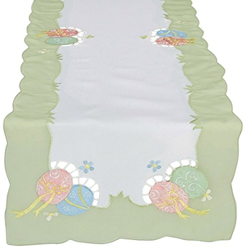 Xia Home Fashions Embroidered Cutwork