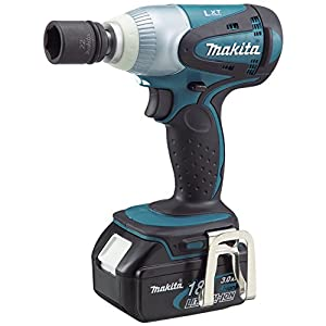 makita btw251rfe 18v lxt li ion impact wrench with 2 x batteries diy tools. Black Bedroom Furniture Sets. Home Design Ideas