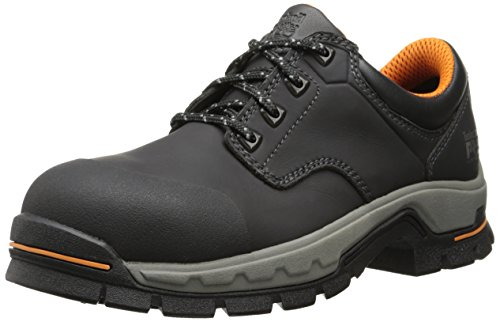 Timberland PRO Men's Stockdale Grip Max OX Alloy Toe Work and Hunt Boot, Black Microfiber, 10 M US by Timberland PRO