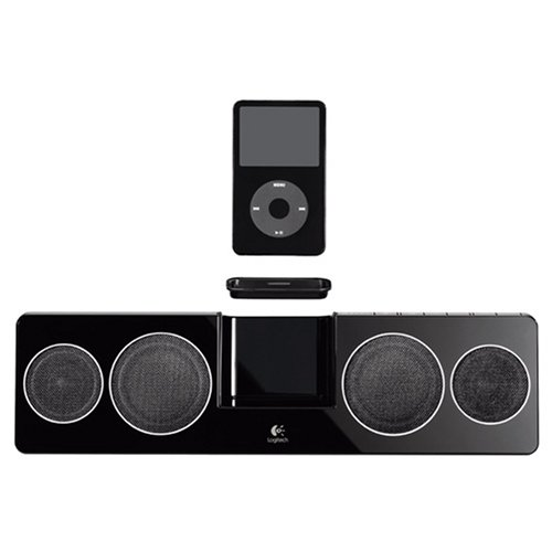 Logitech Pure-Fi Anywhere Compact Speakers for iPod (Black) by Jaybird (Image #2)