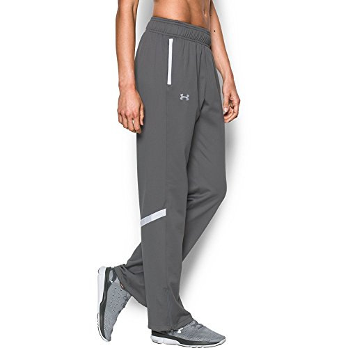 Under Armour UA Qualifier Knit Warm-Up SM Graphite by Under Armour