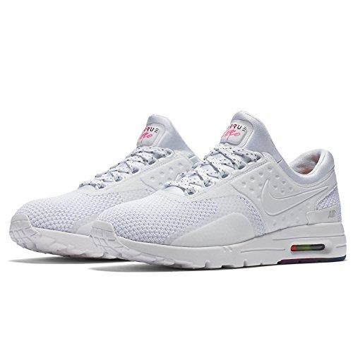 Nike Air Max Zero Qs Mujer Marathon Running White Zapatos (863700 101) Talla: 8.5