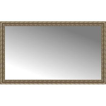 Amazon Com 60 X 36 Sevilla Silver Custom Framed Mirror Home