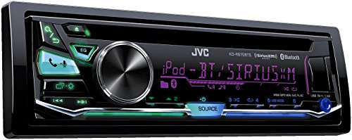JVC KD-R970BTS CD Receiver with Bluetooth and Front USB/AUX Input
