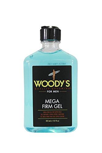 Woody s Grooming Mega Firm Gel, 12 oz Set of 2