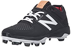 New Balance Men's 3000v3 Baseball Tpu Cleat, Blackblack, 10 D Us