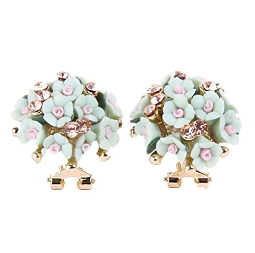 Luckystaryuan Ceramic Champagne Earring Jewelry product image