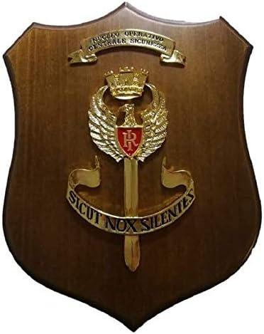 Crest - Cuadro de policía de estado NOX con núcleo operativo de seguridad para cuerpos especiales, producto oficial Art. P110 NOX