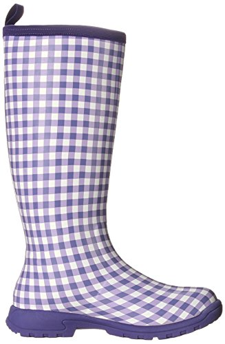 MuckBoots Women's Breezy Tall-W, Purple Gingham, 6 M US by Muck Boot (Image #7)