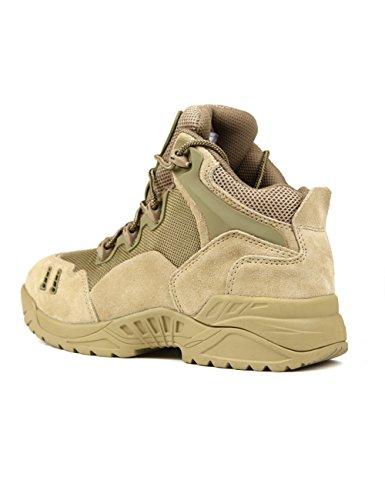 FREESOLDIER - Zapatillas de escalada de Caucho para hombre 43 Arena
