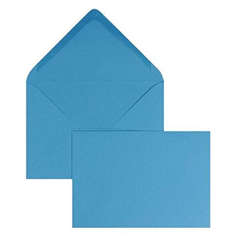 Blanke Briefhüllen - 100 Briefhüllen im Format 90 x 140 140 140 mm in Azurblau B00FPO0ZKQ | Die Qualität Und Die Verbraucher Zunächst  | Passend In Der Farbe  | Verrückter Preis  2091c4
