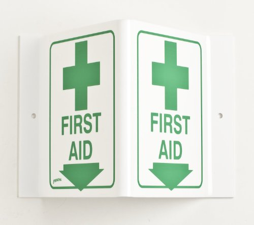 First Aid Station Sign (Brady V1FA03A 6