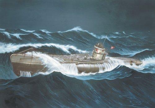 Revell 05015 U-Boat Tipo VIIC - Maqueta de submarino (escala 1:72): Amazon.es: Juguetes y juegos