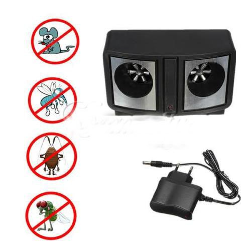 Ultrasonic insect Electronic insect repellent Ultrasonic Anti Mosquito Repeller Insect Repellent New ultrasonic insect electronic insect repellent (Rat Zapper Battery Pack)