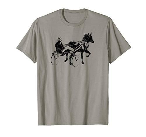Sports Horse Race Harness Racing T-shirt Gift