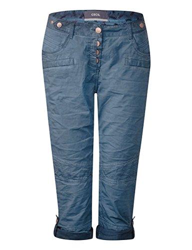 Cecil 10128 Blue Pantalones deep Mujer Blau Para FqFSrw7