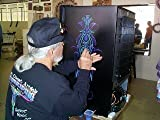 Andrew Mack Size 000 Series Long Bob Pinstriping