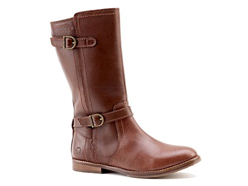 Chatham Leather Tall Leg Winter Boots Ladies - Julia - Brown