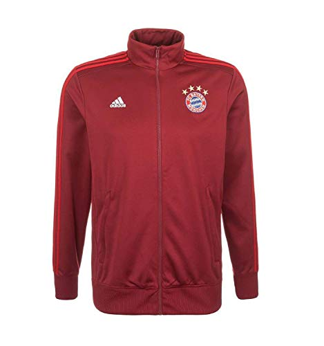 (adidas FC Bayern Munich 3S Track TOP 2015/16 (XS) Red)