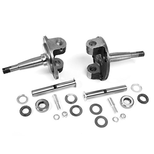 Hot Front Axle Rod (Helix Suspension Brakes and Steering 49884 1928-1948 Ford Straight Axle Round Spindles with King Pin Kit Bushings Installed)