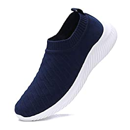 FUDYNMALC Men's Fashion Walking Sock Shoes Lightweight Breathable Mesh Tennis Sneakers Comfortable Knit Slip On Gym…