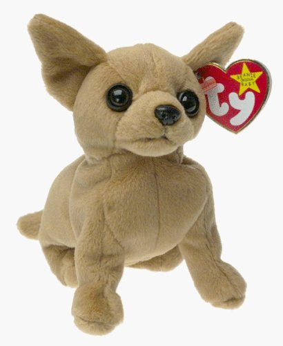 Tiny the Chihuahua - TY Beanie Baby by TY~BEANIES DOGS