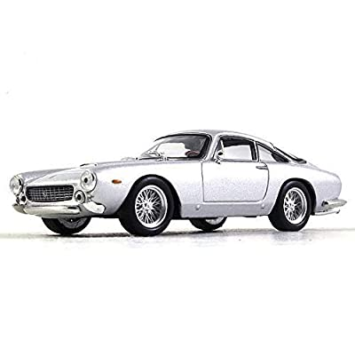 Ferrari 250 GT Berlinetta Lusso Silver 1:43 Scale Diecast Model Car 1955 Year: Toys & Games