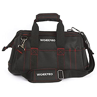WORKPRO 16-inch Wide Mouth Tool Bag with Water Proof Molded Base from HANGZHOU GREAT STAR INDUSTRIAL CO.,LTD