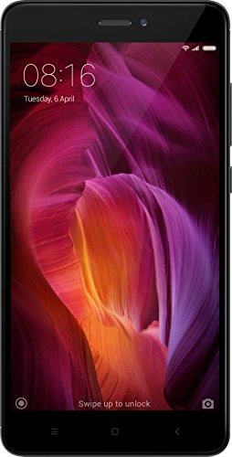 Redmi Note 4 Dual Sim Android Smartphone With 13MP Camera, Gold (4GB, 64GB)