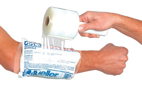 Mueller EZ-Wrap Plastic Film w/Handle - Each (4 in X 1000 ft roll)