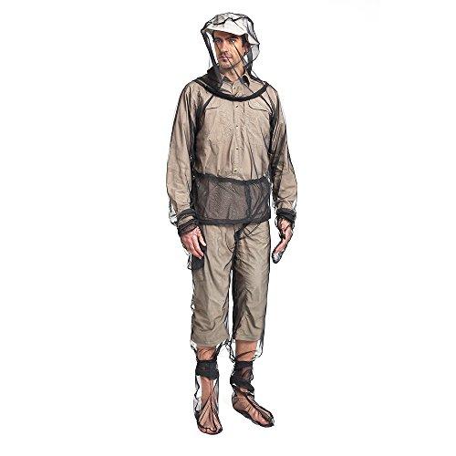 Lixada Bug Jacket Mosquito Suit Unisex Ultra-fine Mesh Summer Bug Wear for Fishing Hiking Camping Gardening (Mosquito Net No See Um)