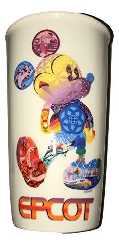 Disney Starbucks Epcot Mickey Icon Double Wall Travel Tumbler ()
