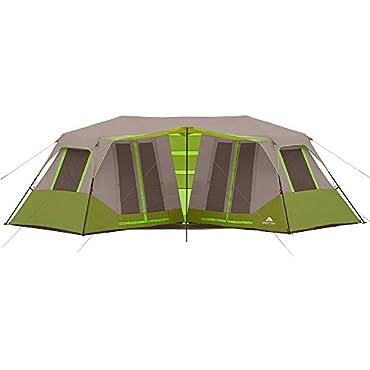 Ozark Trail 23' x 11'6 Instant Double Villa Cabin Tent, Sleeps 8 GREEN