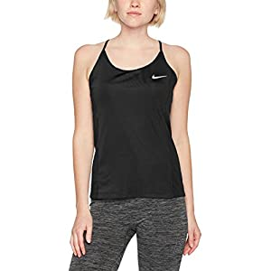 Nike Women's Dry Miler Tank - Small - Black